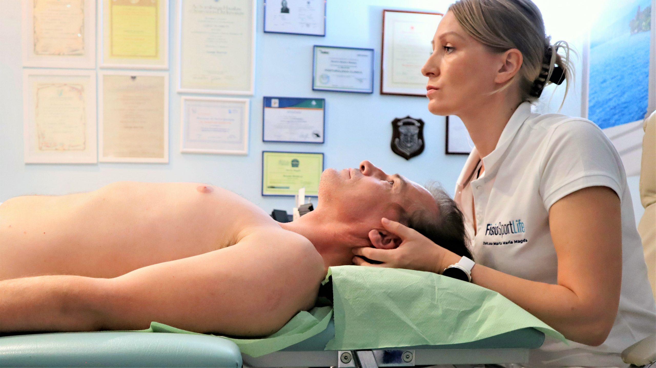 terapia manuale della cervicale